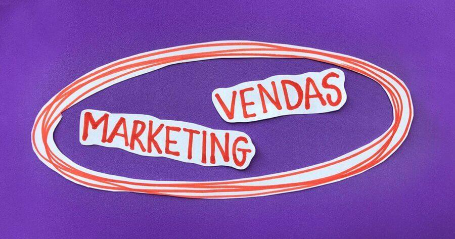 Marketing e Vendas devem caminhar juntos.
